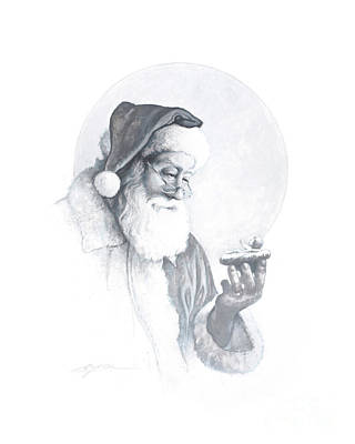 Eve Wall Art - Painting - The Spirit Of Christmas Vignette by Greg Olsen