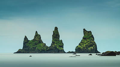 Photograph - The Stacks Of Vik by Josh Eral