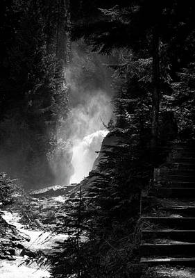 Photograph - The Stairs At Bear Creek Falls by Monte Arnold