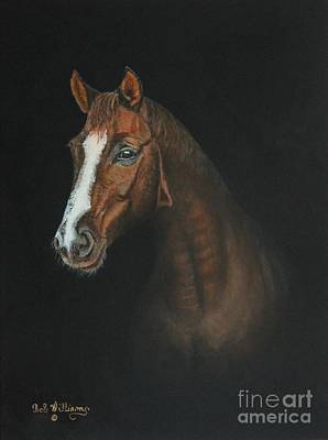 Painting - The Stallion by Bob Williams