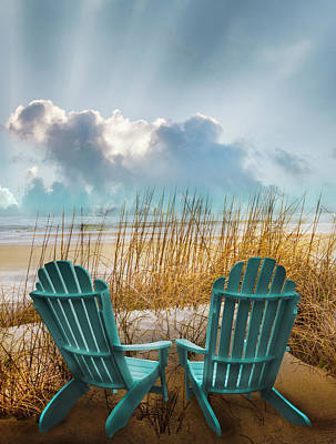 Photograph - The Start Of A Beautiful Day by Debra and Dave Vanderlaan