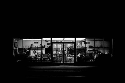 Photograph - The Storefront by Sawyer King Scott