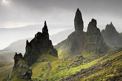 Photograph - The Storr, Isle Of Skye, Scotland by Derek Croucher