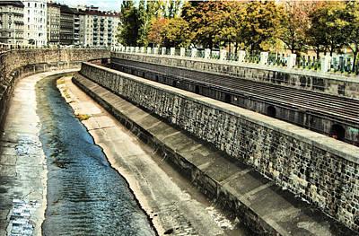 Jonny Jelinek Royalty-Free and Rights-Managed Images - The Stream Through Vienna by Jonny Jelinek