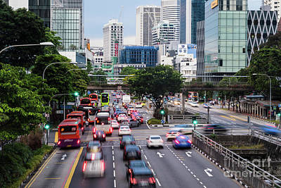 Photograph - The Streets Of Singapore by Didier Marti