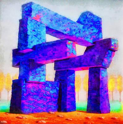 Thomas Kinkade - The Structure - PA by Leonardo Digenio