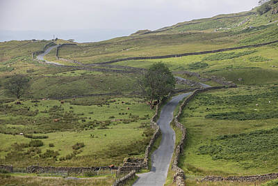 Photograph - The Struggle Road Lake District Uk by John McGraw