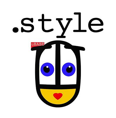 Digital Art - The Style by Ubabe Style