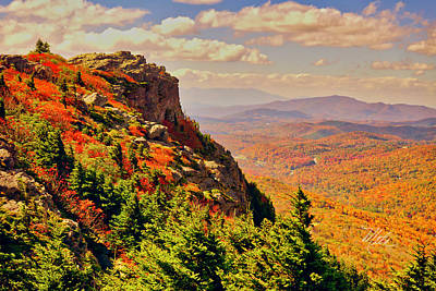 The Summit In Fall Art Print