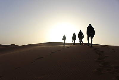The Sunrise In Merzouga Desert Morroco 4  Original