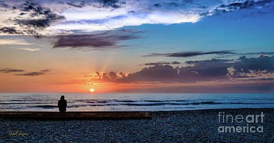 Photograph - The Sunset Watcher by David Levin