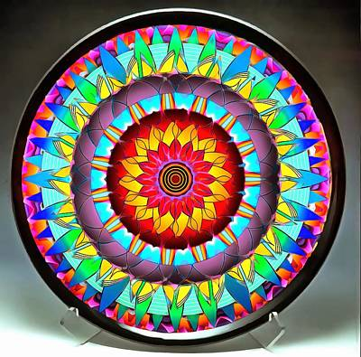 Photograph - The Sunshine Plate by Mario Carini