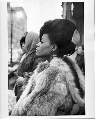 Photograph - The Supremes by Michael Ochs Archives
