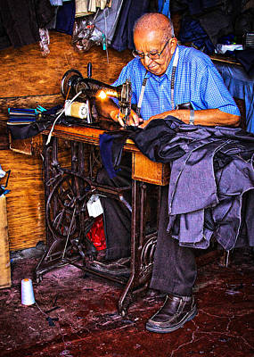 Photograph - The Tailor  by Tatiana Travelways
