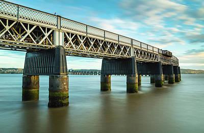 Photograph - Tay Rail Bridge 1 by Diarmid Weir