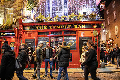 Photograph - The Temple Bar Dublin by John McGraw