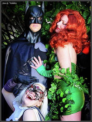 Photograph - The Temptation Of Batman by Jon Volden