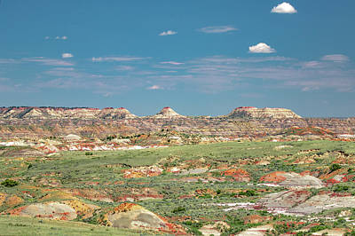 Photograph - The Terry Badlands by Todd Klassy