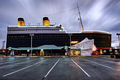 Photograph - The Titanic At Dawn - Branson Missouri by Gregory Ballos
