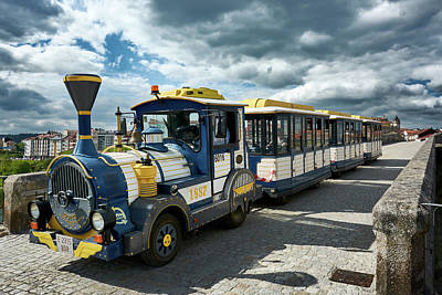 Photograph - The Touristic Train Of Ourense by Fine Art Photography Prints By Eduardo Accorinti