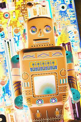Futuristic Wall Art - Photograph - The Transistor Bot by Jorgo Photography - Wall Art Gallery