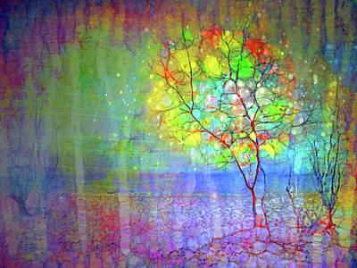 Digital Art - The Tree That Refuses To Lose Itself by Tara Turner