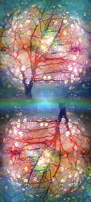 Digital Art - The Tree Where Angels Live by Tara Turner