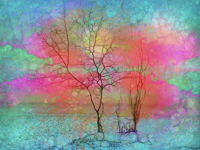 Digital Art - The Tree With Wings by Tara Turner