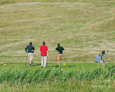 Photograph - The Trials And Tribulations Of Golf by Terri Waters