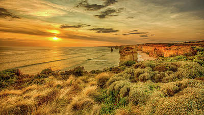 Photograph - The Twelve Apostles by Chris Cousins