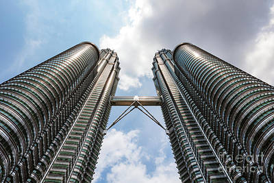 Photograph - The Twin Towers, Kuala Lumpur, Malaysia by Matteo Colombo