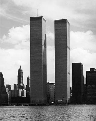 Cityscapes Photograph - The Twin Towers by Peter Keegan