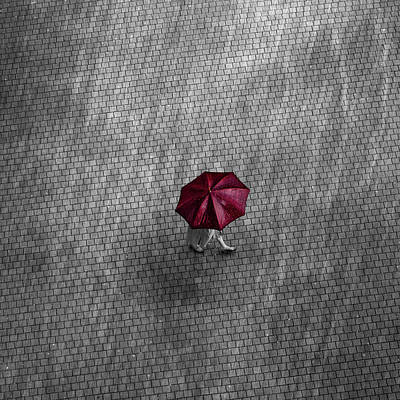 Photograph - The Umbrella by Miguel Angel Samos Lucena