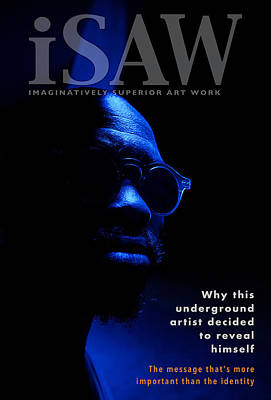 Digital Art - The Underground Artist by ISAW Company