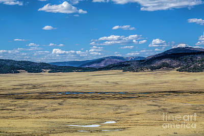 Photograph - The Valles Caldera by Jon Burch Photography