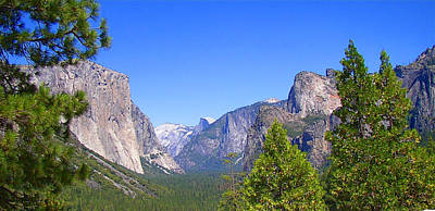 Photograph - The Valley Of Inspiration-yosemite by Glenn McCarthy Art and Photography