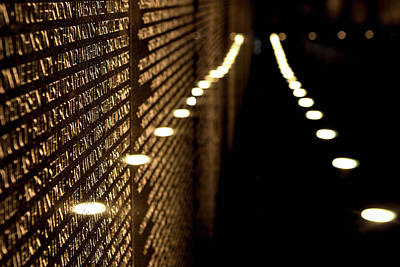 Photograph - The Vietnam Veterans Memorial by Pete Federico