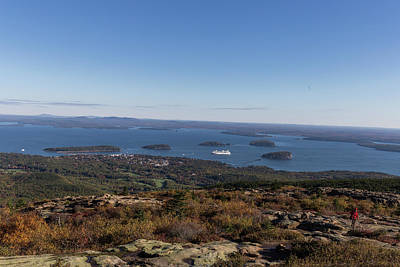 Photograph - The View From Cadillac Mountain by Brian MacLean