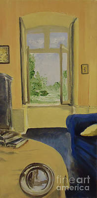 Painting - The View From Harold's Room by Michelle Curry