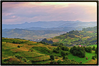 Photograph - The Village Beyond by Sorin Markus