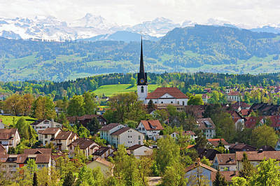 Tranquility Photograph - The Village Of Gossau by Picture By Tambako The Jaguar