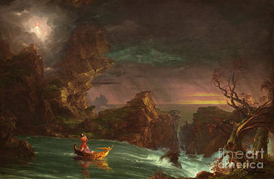 Painting - The Voyage Of Life  Manhood, 1842 by Thomas Cole