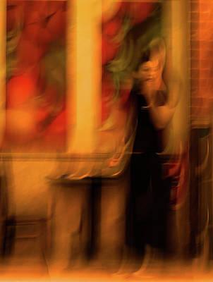 Photograph - The Waiting Girl by Jorg Becker