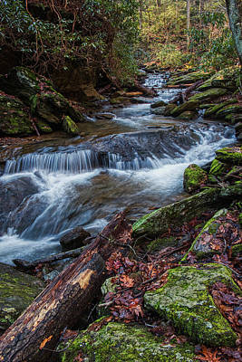 Photograph - The Water Flows by Mark Dodd