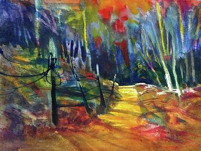 Mixed Media - The Way Home by Betty Turner