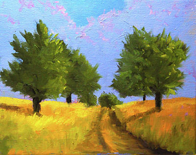 Painting - The Way Home by Nancy Merkle