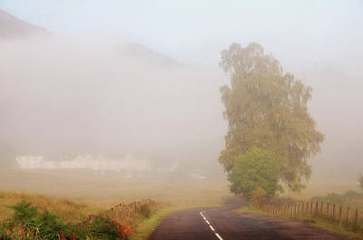 Photograph - The Way To Never Never Land. Misty Roads Of Scotland by Jenny Rainbow