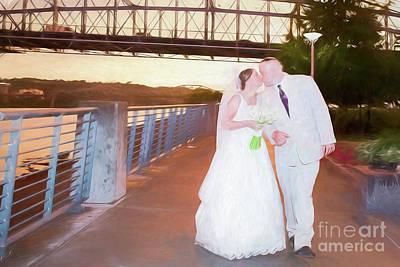 Digital Art - The Wedding by Ed Taylor