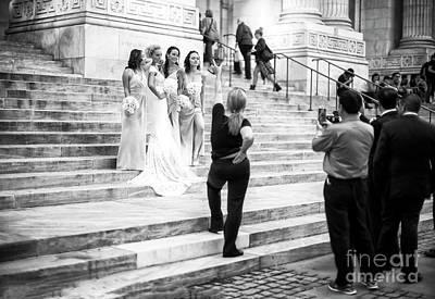 Photograph - The Wedding Shoot New York City by John Rizzuto