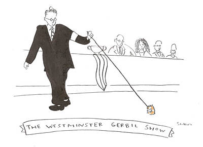 Drawing - The Westminster Show by Michael Shaw